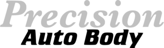 Precision Auto body logo